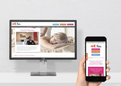 Franchisee Recruitment Website and Content Development The Massage Company
